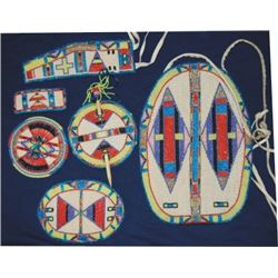 Sioux newer beaded dance outfit