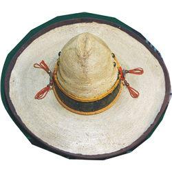 1910 straw sombrero
