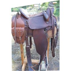 Sandy Saddlery, Burns, OR custom made saddle