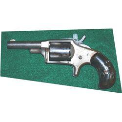 Hopkins & Allen #2 .32RF nickel plated pistol