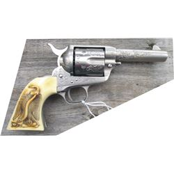 Colt SAA engraved .41 Sheriff's model 3 3/4 inch barrel
