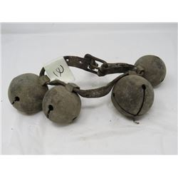 SET OF 4 HARNESS BELLS