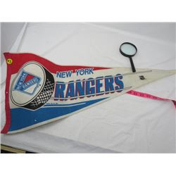 HOCKEY PENDANT (NEW YORK RANGERS, 1989)
