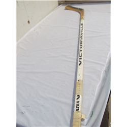 HOCKEY STICK (SIGNED BRIAN TROTTIER)