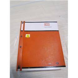 CASE TRACTOR MANUAL (1030 CASE)