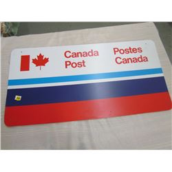 ADVERTISING SIGN (CANADA POST)