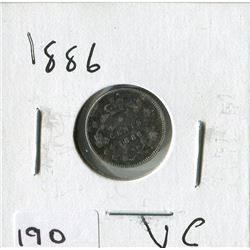 1886 CNDN SMALL NICKEL (SILVER)