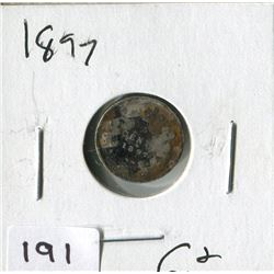 1897 CNDN SMALL NICKEL (SILVER)
