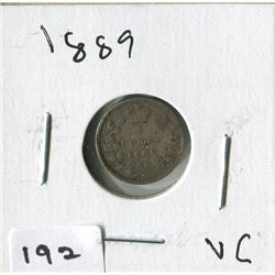 1889 CNDN SMALL NICKEL (SILVER)