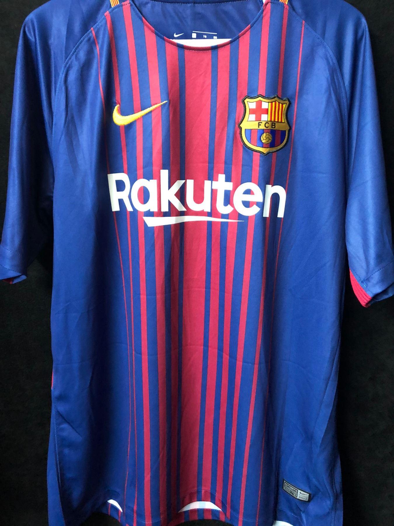 the latest 2ca9f 9794f Ousmane Dembele Signed Barcelona Jersey (Beckett COA)