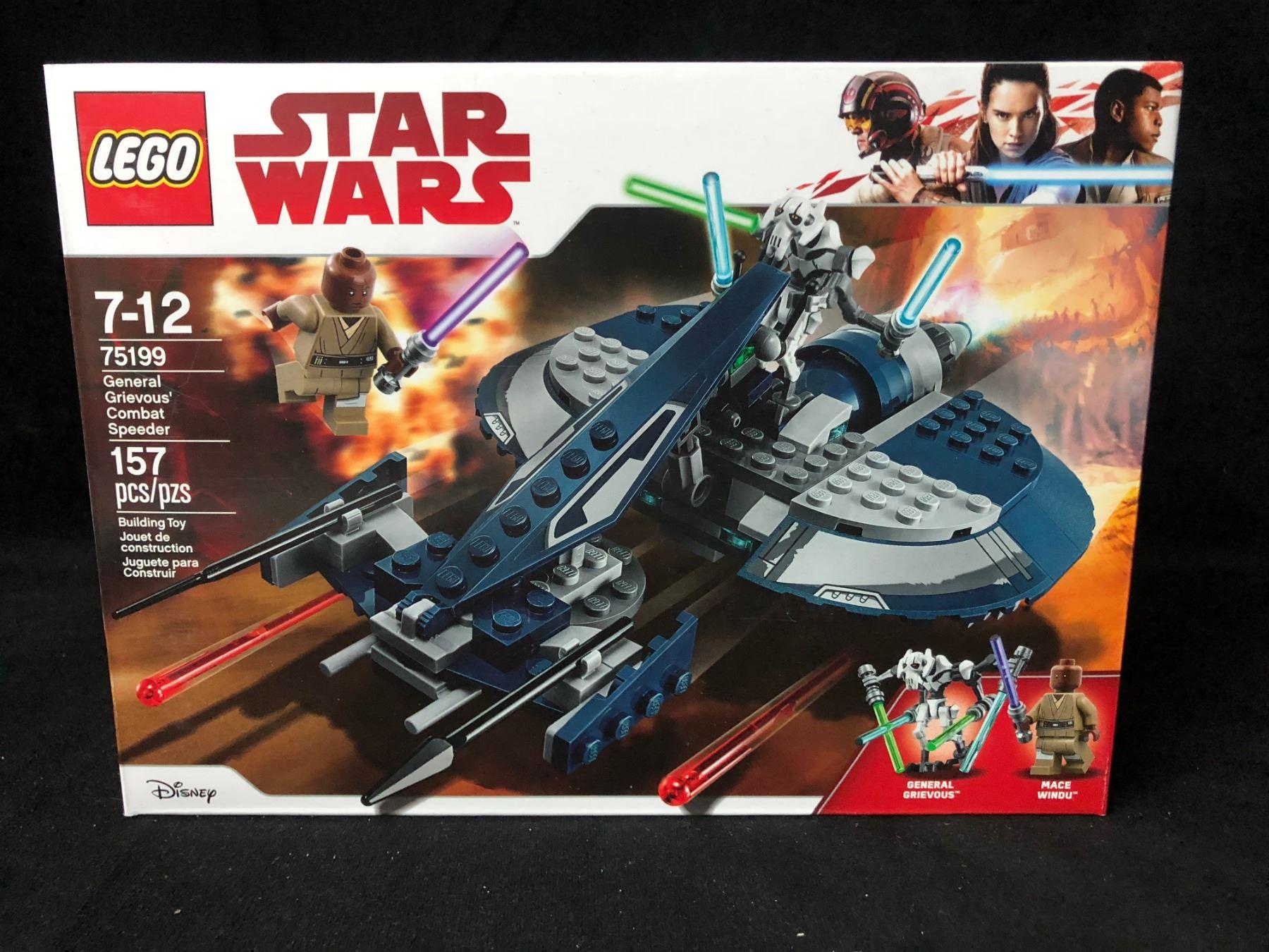 Grievous Wars Star Speeder Combat 75199 Lego W9DIH2E