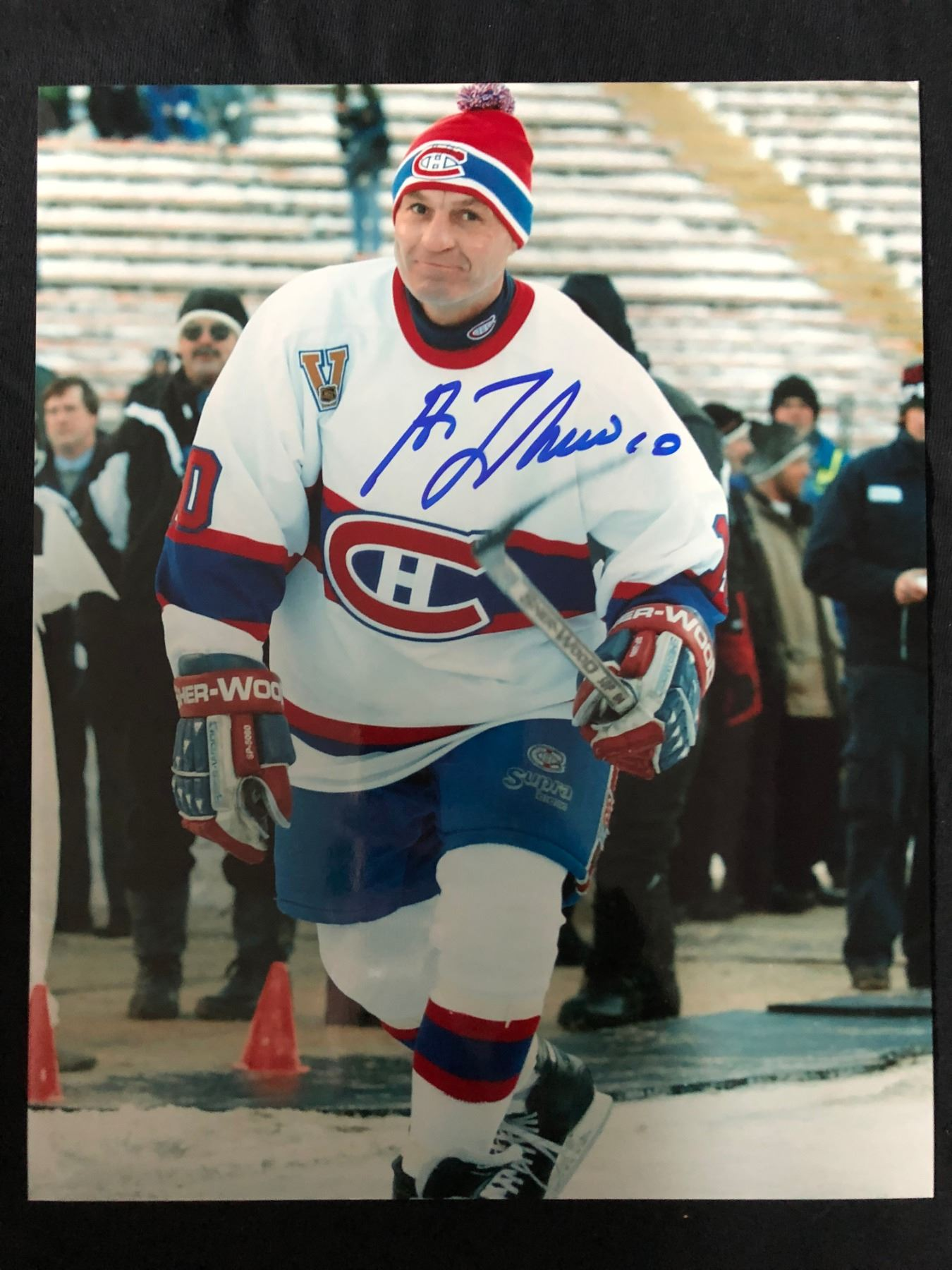 new products 398a2 46d41 GUY LAFLEUR SIGNED 8 X 10 PHOTO (MONTREAL CANADIENS)