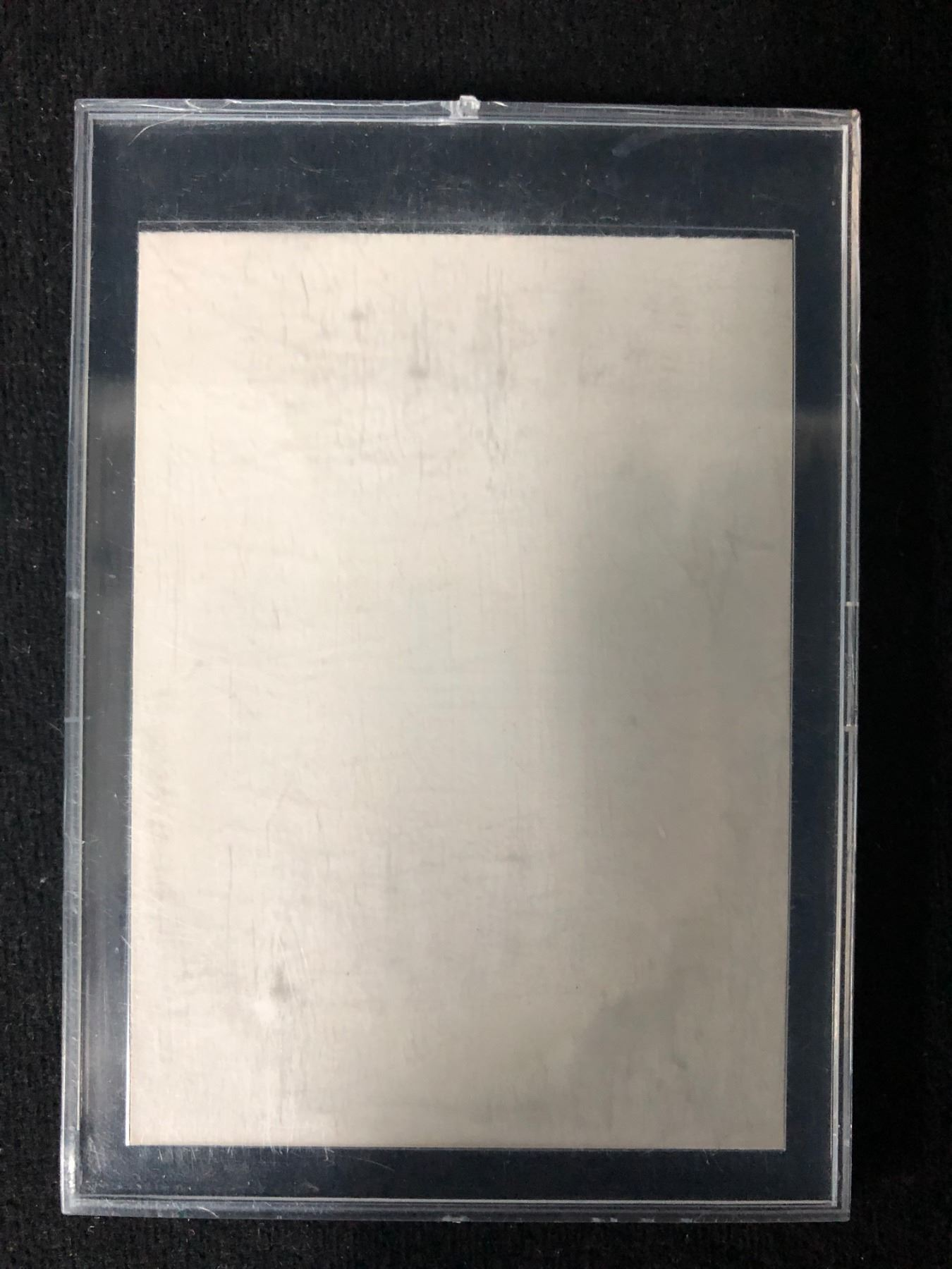 1989 Pro Set Rookie Of The Year Barry Sanders Rare Error Card Blank Back