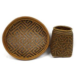 2 Colombia South American Baskets