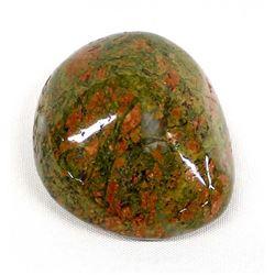 Large Polished Unakite Stone Specimen
