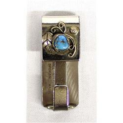 Navajo Turquoise Belt Keychain