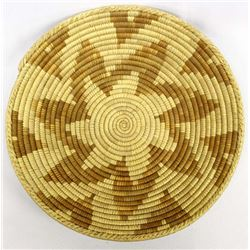 Ethnic Coiled 2-Toned Basket
