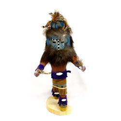 Native American Navajo Hemis Kachina by N Yazzie