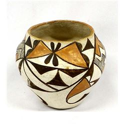 1950's Acoma Pueblo Butterfly Pottery Jar
