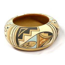 Jemez Pottery Bowl by M.S. Toya