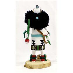 Zuni White Salimopia Warrior God Kachina