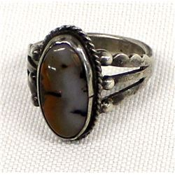 Vintage Navajo Fred Harvey Style Ring, Size 7.5