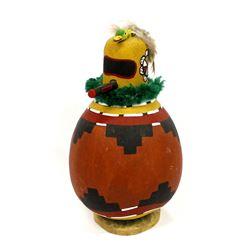 Native American Hopi Hummingbird Gourd Kachina