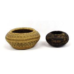 Pair of Ethnic Baskets