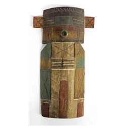 Hopi Cradle Doll Corn Kachina by Ted Francis, Jr.