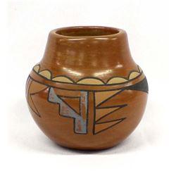 Santa Clara Polychrome Pottery Jar, R. Sisneros