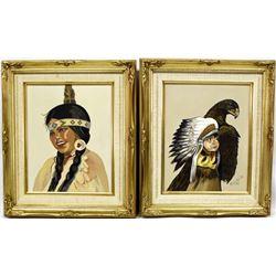 2 Original Oil Paintings by H. Bumblis