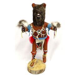Navajo Bear Kachina by Alan Yazzie