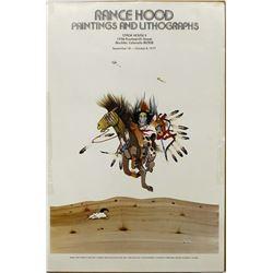 1977 Rance Hood Poster Print
