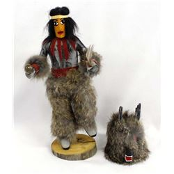 Navajo Antelope Kachina by V. Jim