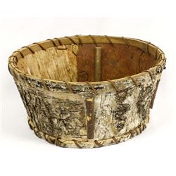 Vintage Iroquois Birch Bark Basket