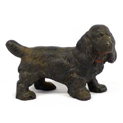 Antique Cast Iron Cocker Spaniel