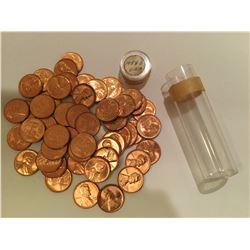 1953S Roll of US Lincoln Wheat Penny