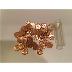 1961 Roll of Lincoln US Memorial Penny