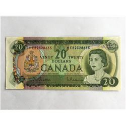1969 Canadian $20.00 Uncirculated *EB2328635
