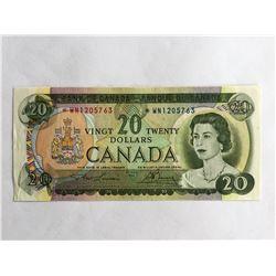 1969 Canadian $20.00 AU/UNC *WN1205763