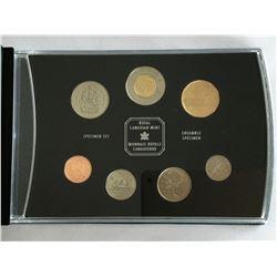 2001 Canadian Specimen Set only 75000 minted
