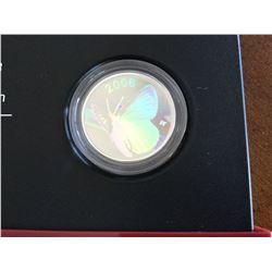 2006 RCM Limited Edition Silvery Blue 50¢ Piece