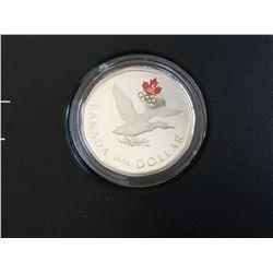 2006 RCM Limited Edition Olympic Silver Dollar