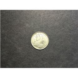 1908 Canadian 5¢ Silver Coin