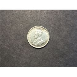 1936 Canadian Silver 10¢ coin