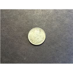 1931 Canadian Silver 10¢ coin