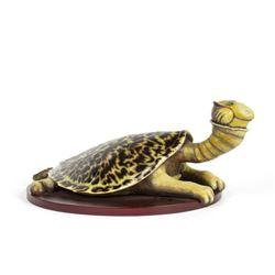 "Dr. Seuss ""Turtle-Necked Sea-Turtle"" Sculpture."
