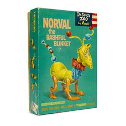 """Norval the Bashful Blinket"" Dr. Seuss Toy."