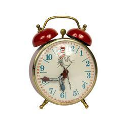 """""""The Cat in the Cat"""" Dr. Seuss Alarm Clock."""