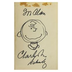 """More Peanuts"" Drawing & Inscription by Charles Schulz."
